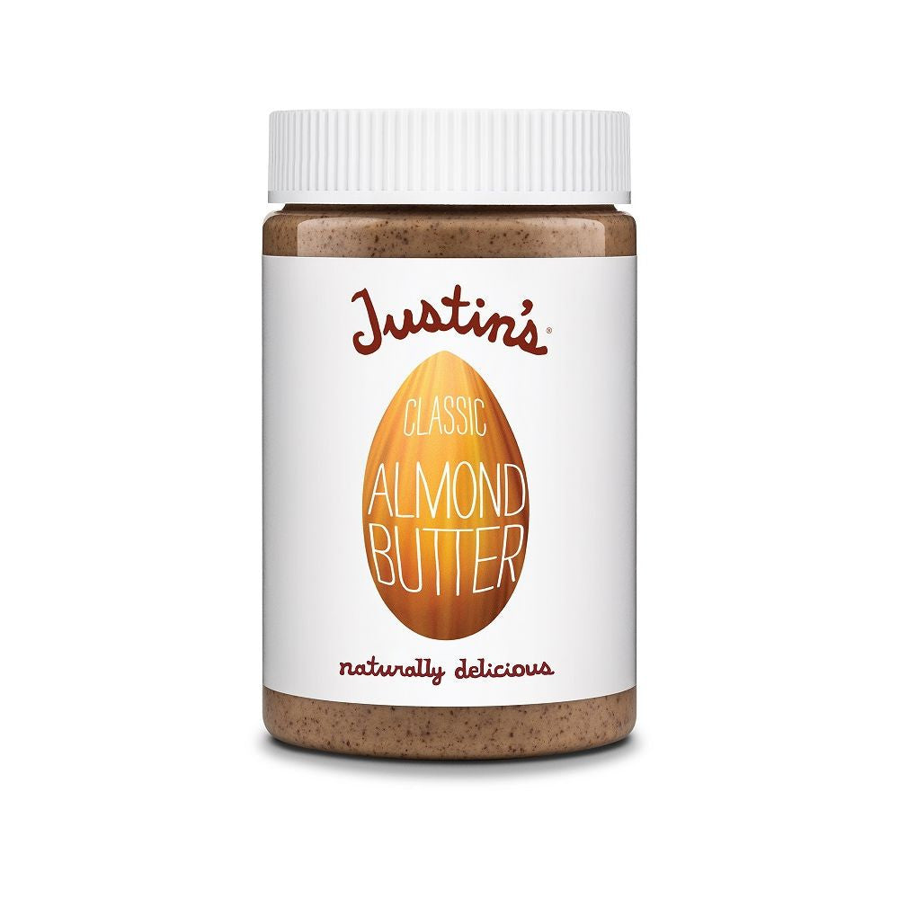Justin's Natural Classic Almond Butter, 16 OZ (Pack of 6)