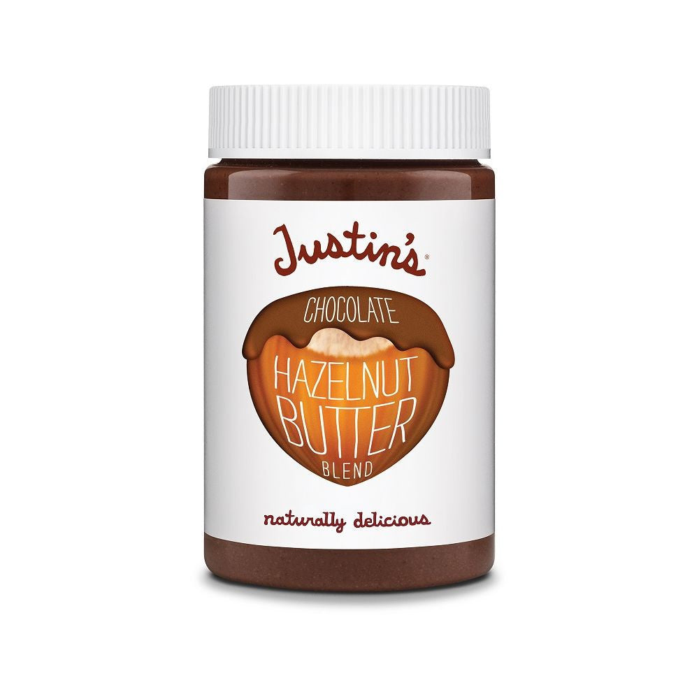 Justin's Nut Butter Chocolate Hazelnut, 16 OZ (Pack of 6)