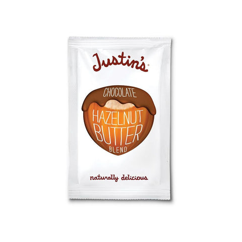 Justin's Nut Butter Chocolate Hazelnut, 1.15 Oz (Pack of 10)