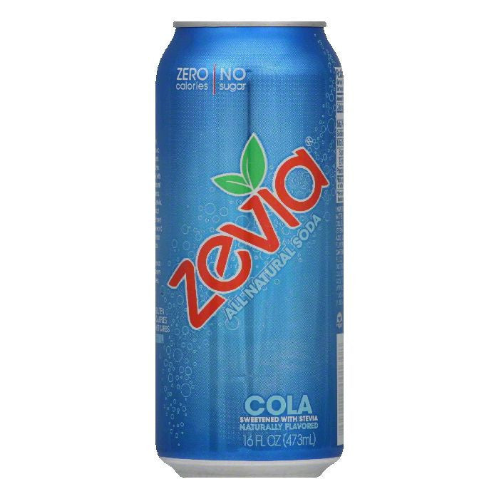 Zevia Cola, 16 FO (Pack of 12)