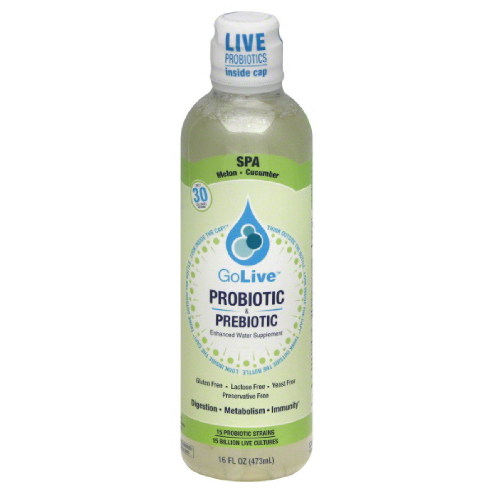 Golive Spa Probiotic & Prebiotic Supplement, 16 Fo  ( Pack of  1)