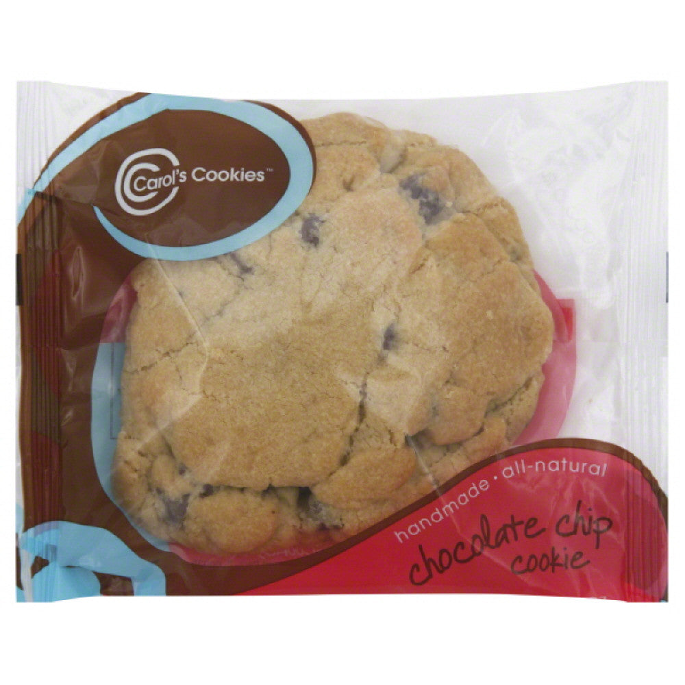 Carols Cookies Chocolate Chip Cookie, 6 Oz (Pack of 36)