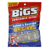 Bigs Salted and Roasted Sunflower Seeds, 5.35 OZ  ( Pack of  8)