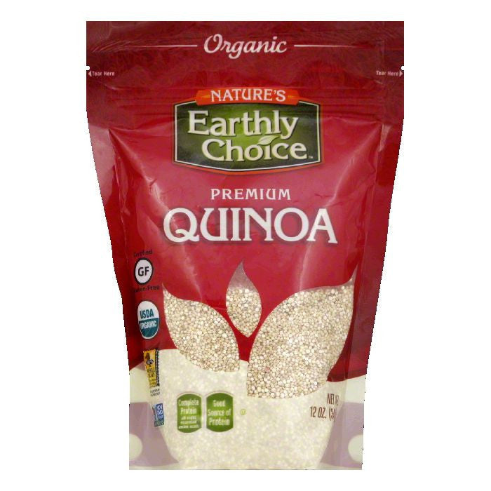 Earthly Delights Organic Quinoa, 14 OZ (Pack of 6)