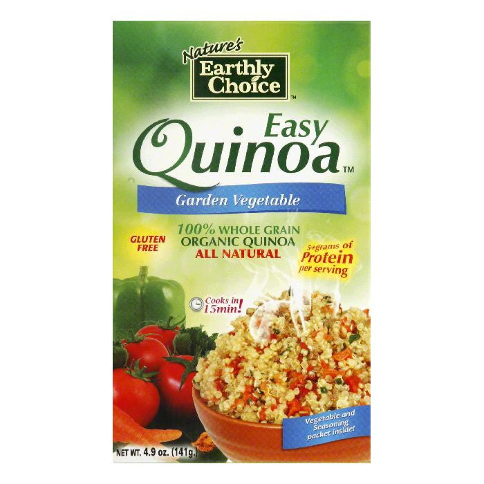 Natures Earthly Choice Easy Garden Vegetable Quinoa, 4.8 OZ (Pack of 6)