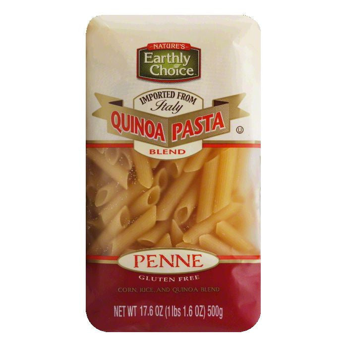 Natures Earthly Choice Penne Pasta Blend Quinoa, 17.64 OZ (Pack of 6)
