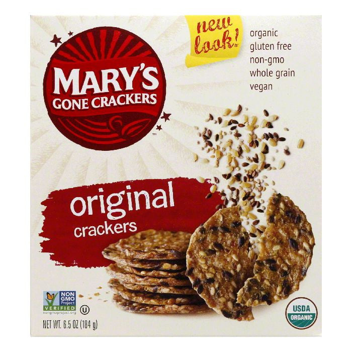 Mary's Gone Crackers Gluten Free Originial, 6.5 OZ (Pack of 12)