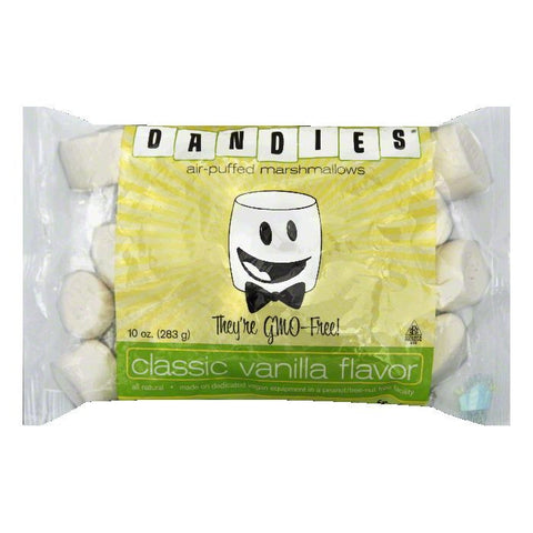 Dandies Vegan Marshmallow, 10 OZ (Pack of 12)