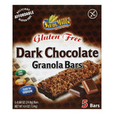 Sam Mills Bar Granola Gluten Free Chocolate Dark, 4.4 OZ (Pack of 6)