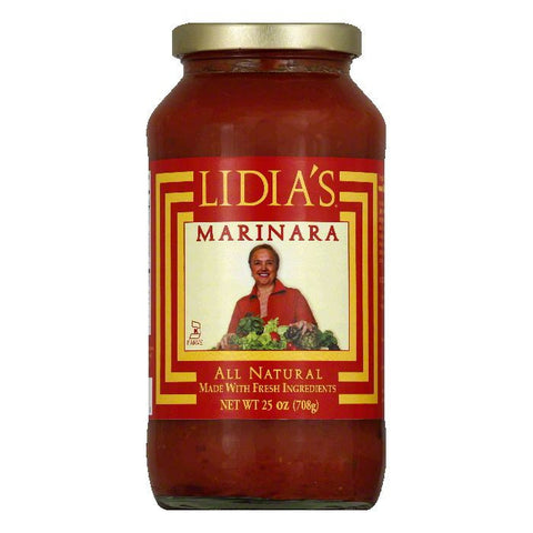 Lidia's Marinara Pasta Sauce, 25 OZ (Pack of 6)