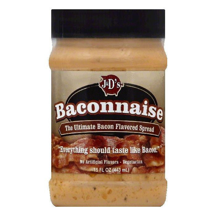 J&Ds Baconnaise, 15 OZ (Pack of 6)