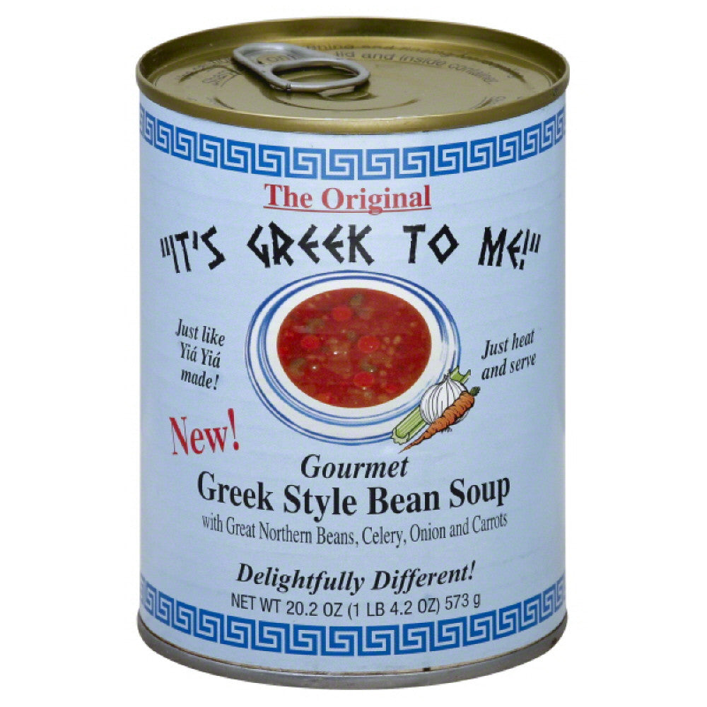 Its Greek To Me Greek Style Bean Soup, 20.2 Oz (Pack of 12)