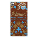 Divine Toffee & Sea Salt0.38 Milk Chocolate, 3.5 Oz (Pack of 10)