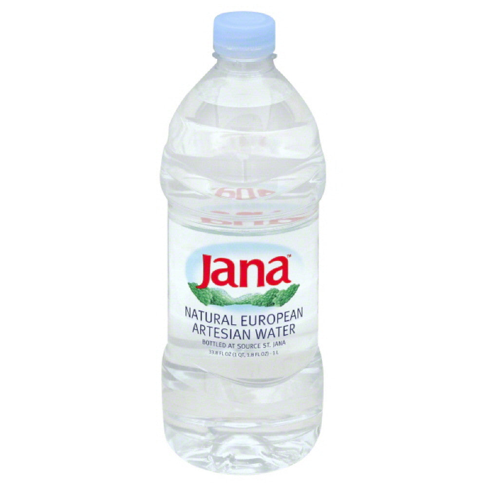 Jana Natural European Artesian Water, 33.8 Fo (Pack of 12)