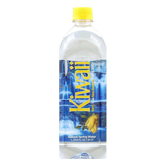 Kiwaii Natural Spring Water, 33.8 Oz (Pack of 12)