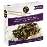 Feel Good Foods Mongolian Beef With Asparagus & Scallions, 9 Oz (Pack of 8)