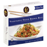 Feel Good Foods Vegetable Fried Brown Rice, 9 Oz (Pack of 8)
