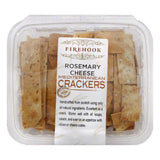 Firehook Rosemary Cheese Mediterranean Crackers, 7 Oz (Pack of 12)