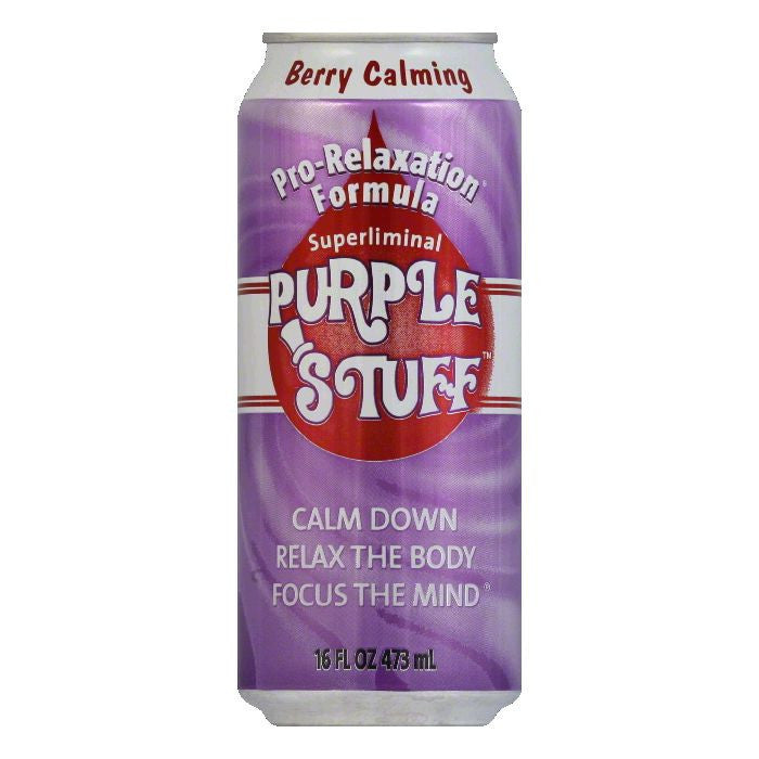 Purple Stuff Berry Calming, 16 OZ (Pack of 12)
