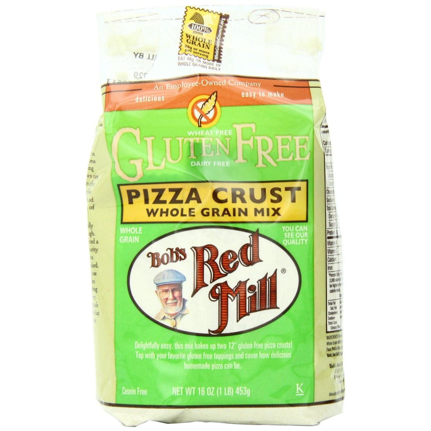 Bob's Red Mill Gluten Free Pizza Crust Mix, 16-Ounce Bags (Pack of 4)