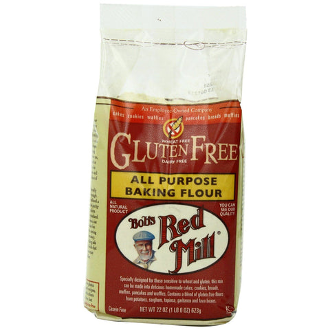 Bob's Red Mill All Purpose Gluten Free Baking Flour, 22 Oz (Pack of 4)