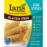 Ian's Fish Sticks, 8 Oz (Pack of 12)