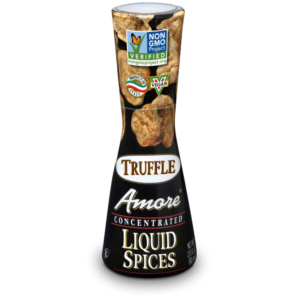 Amore Truffle Flavor Liquid Spices, 2 Oz (Pack of 12)
