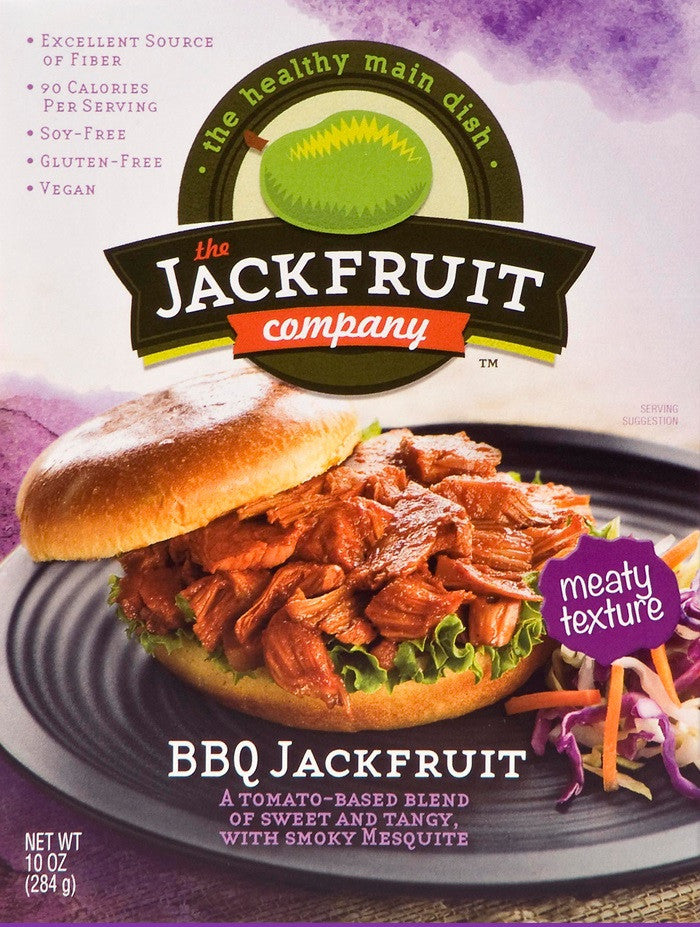 the JACKFRUIT Company BBQ, 10 oz (Pack of 6)