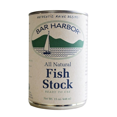 Bar Harbor All Natural Fish Stock, 15 OZ (Pack of 6)