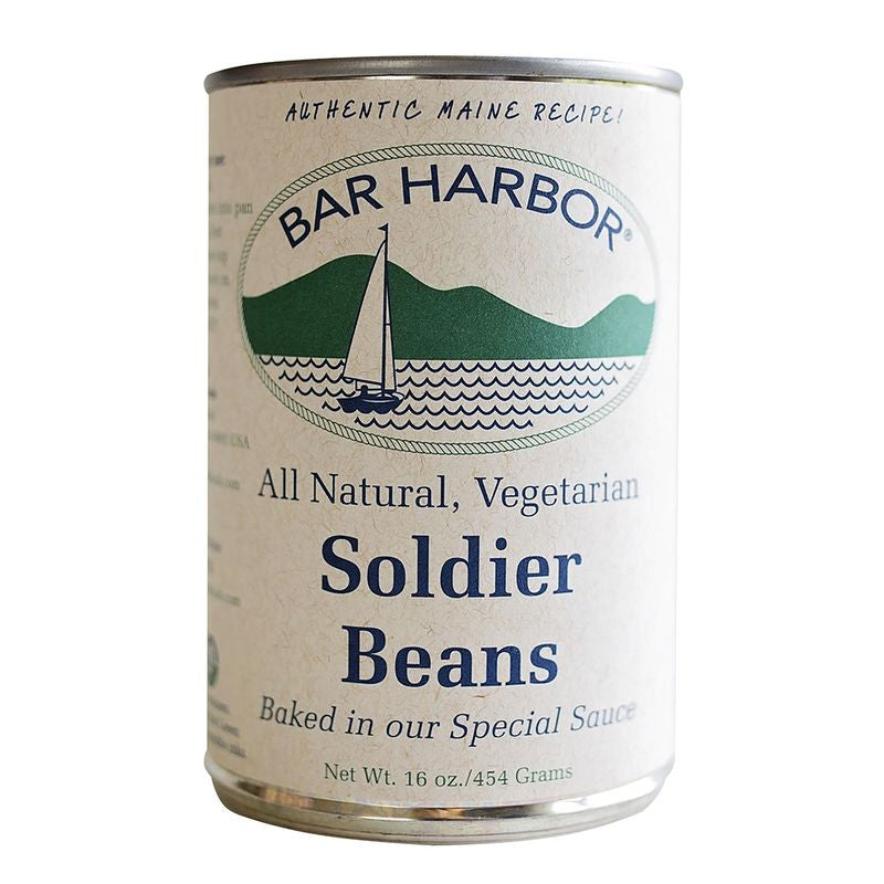 Bar Harbor Vegetarian Soldier Beans, 16 Oz (Pack of 6)