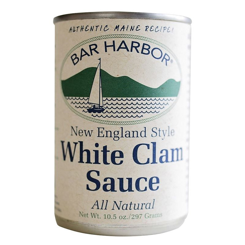 Bar Harbor White Clam Sauce, 10.5 OZ (Pack of 6)