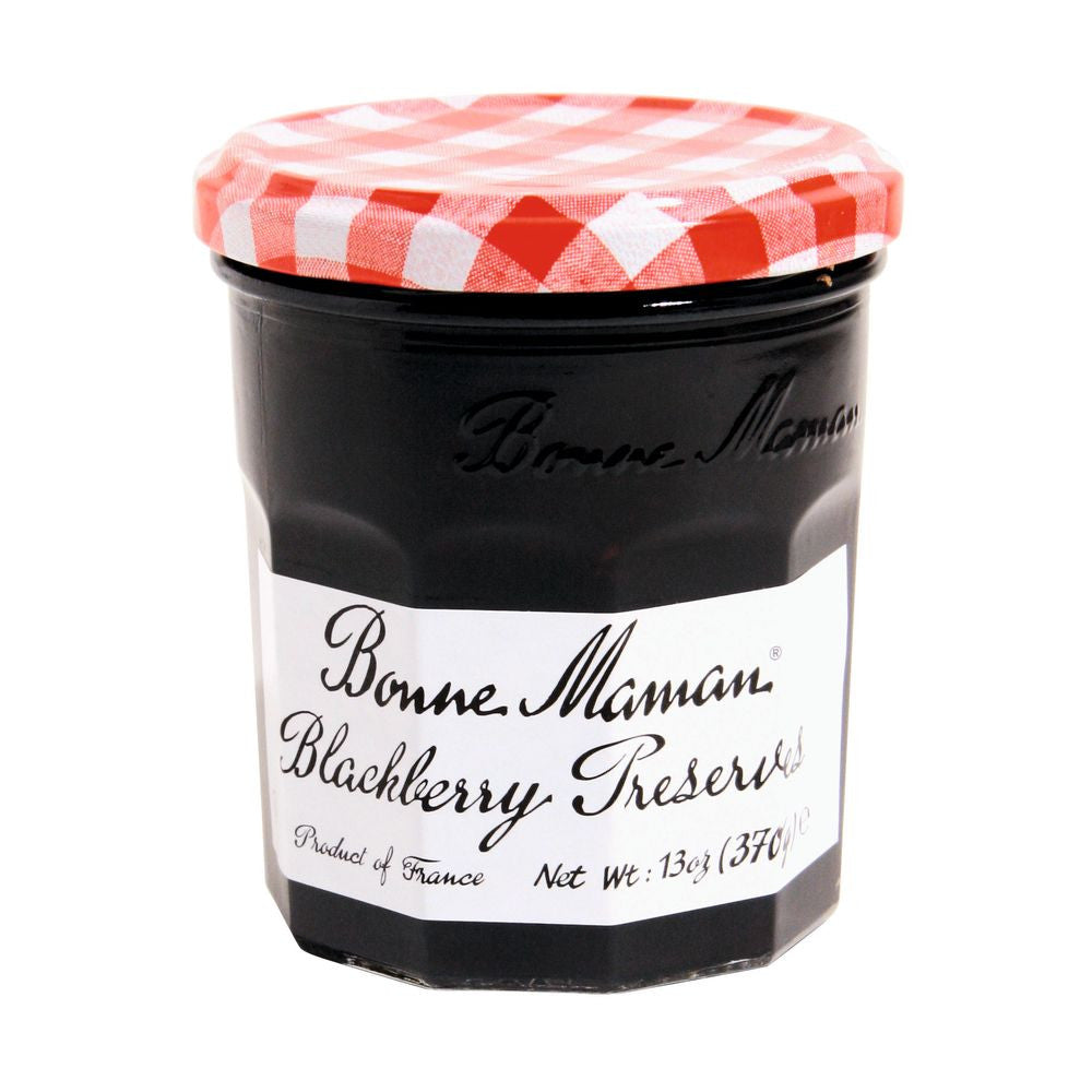 Bonne Maman Blackberry Preserves, 13 Oz (Pack of 6)