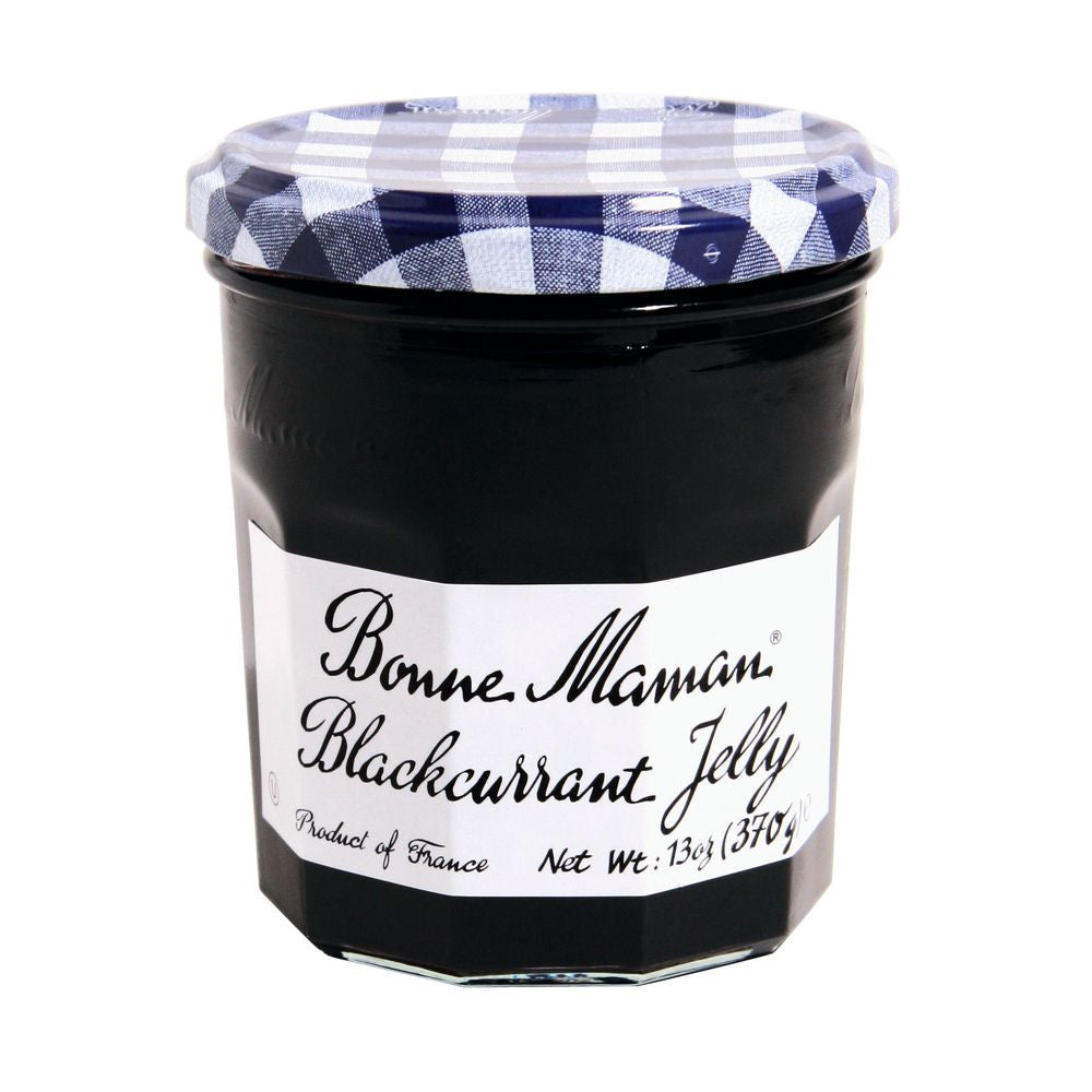 Bonne Maman Blackcurrant Jelly, 13 Oz (Pack of 6)