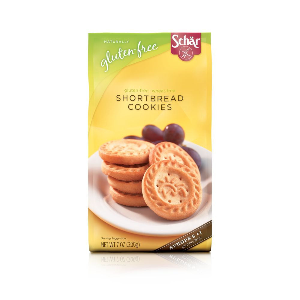 Schar Shortbread Cookies, 7 Oz (Pack of 12)