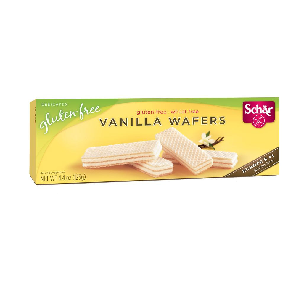 Schar Vanilla Wafers, 4.4 Oz (Pack of 12)