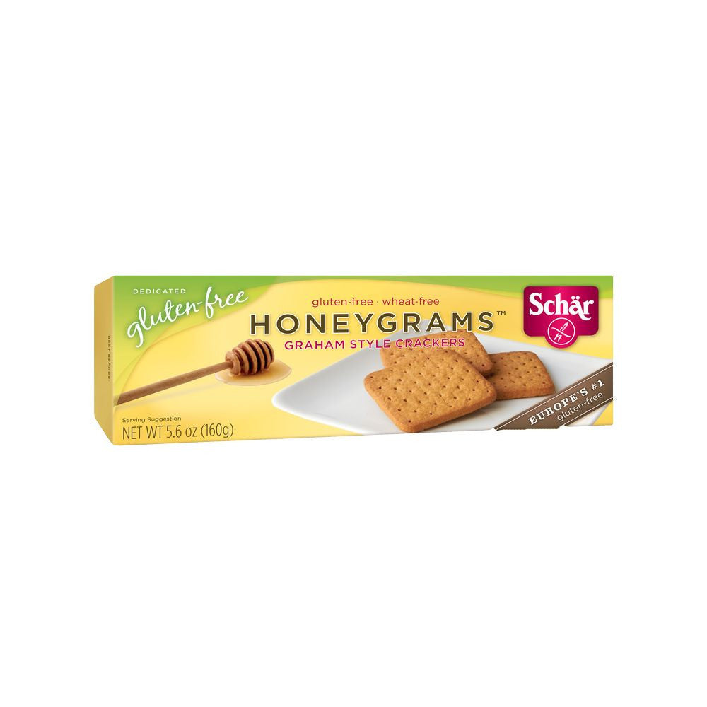 Schar Honeygrams Cookies, 5.6 OZ (Pack of 12)