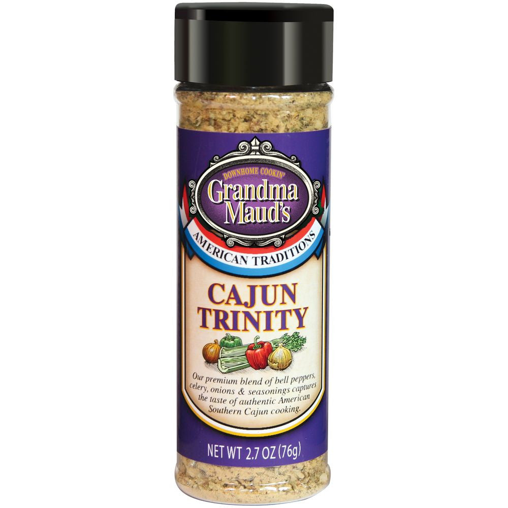 Grandma Mauds Cajun Trinity Seasoning, 2.7 Oz (Pack of 6)