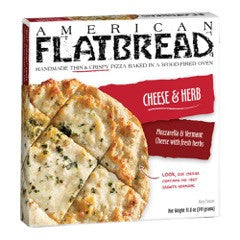 American Flatbread Cheese & Herb, 14 Oz  (Pack of 6)