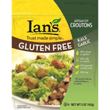 Ians Kale Garlic Croutons, 5 Oz (Pack of 8)