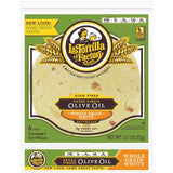 La Tortilla Factory Extra Virgin Olive Oil SoftWraps, Whole Grain White, 6 Ea (Pack of 14)