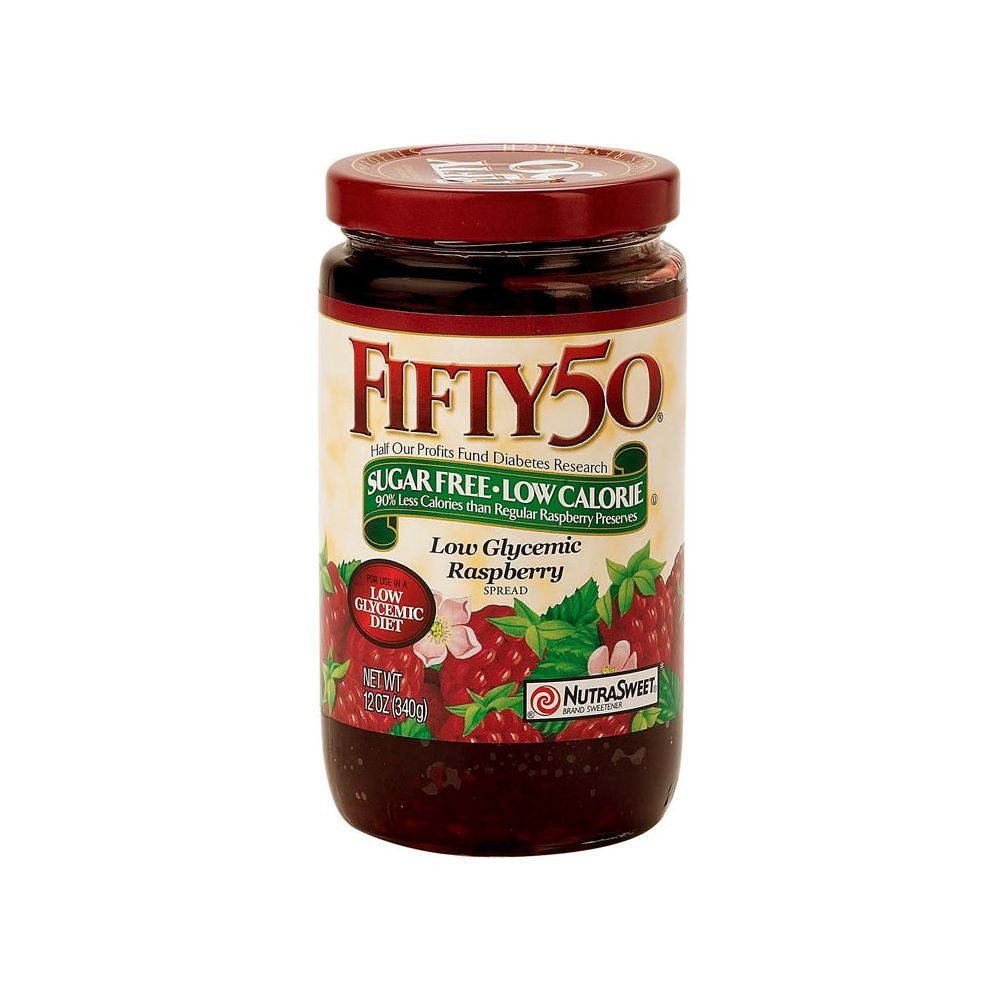 Fifty 50 Raspberry Spread, 12 Oz (Pack of 6)