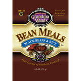 Grandma Mauds Black Bean & Rice Bean Meals, 6.2 Oz (Pack of 6)