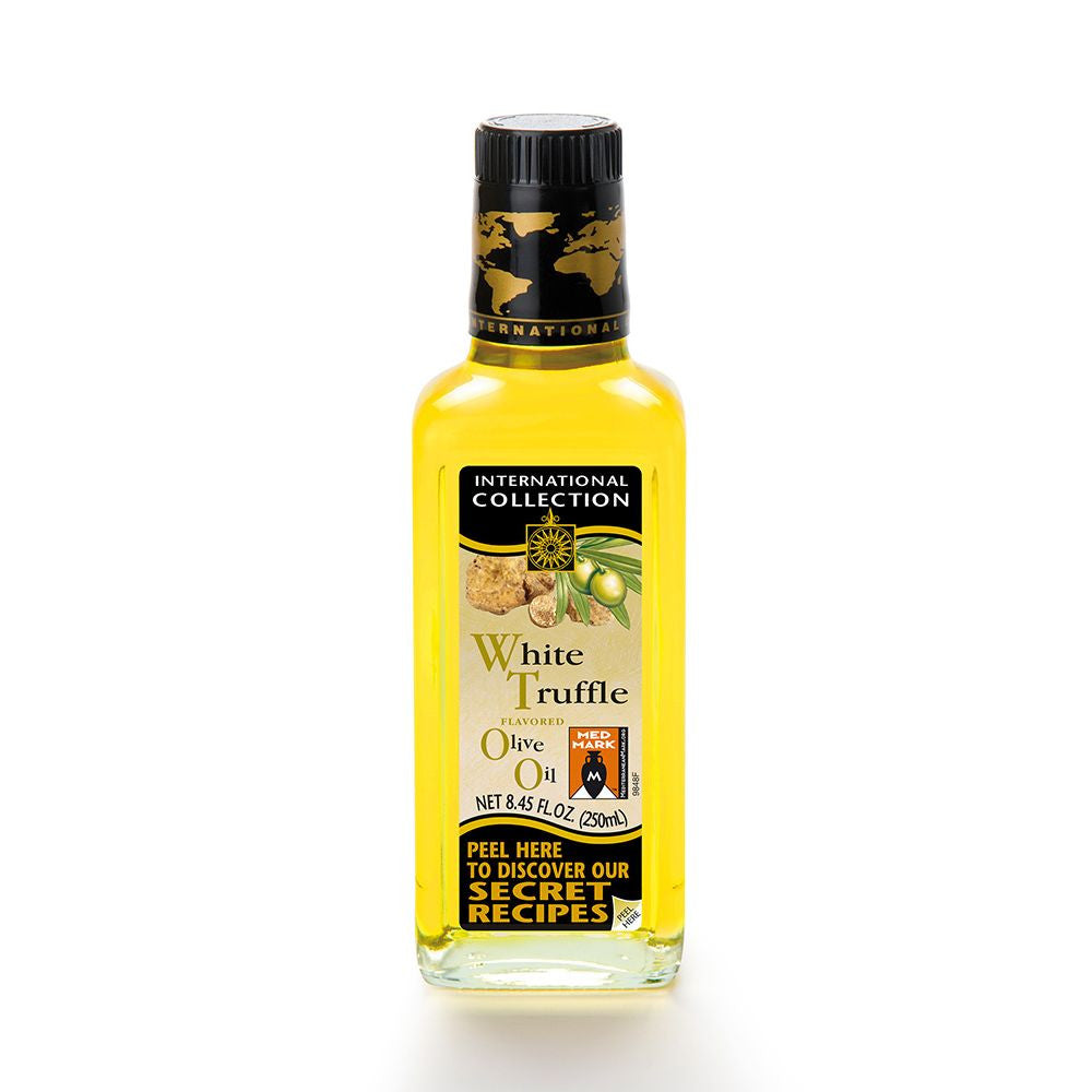 International Collection White Truffle Flavored Olive Oil, 8.45 OZ (Pack of 6)