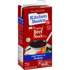 Kitchen Basics Original Beef Cooking Stock 32 fl. Oz Carton (Pack of 12)