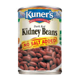Kuner's Kidney Beans No Salt Added, 15oz (Pack of 12)