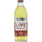 Live Beverage Classic Cola Kombucha, 12 Oz (Pack of 8)