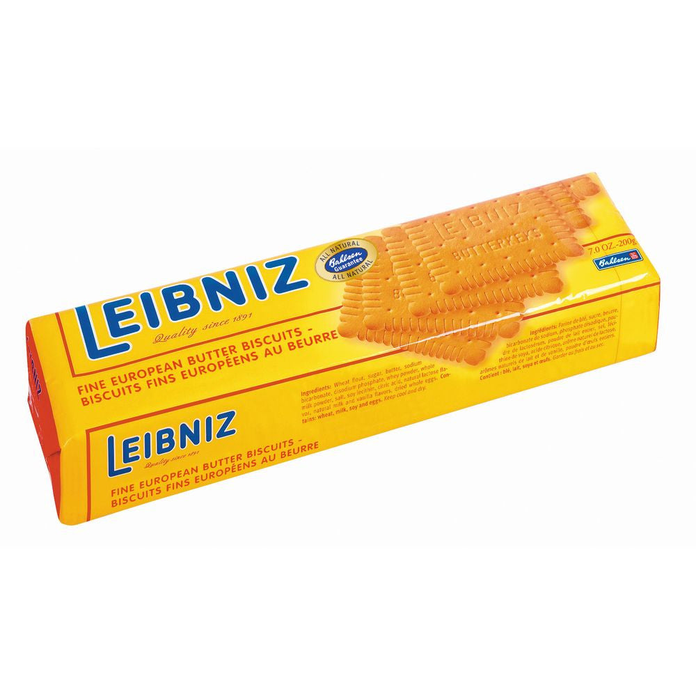 Leibniz Fine Eurpoean Butter Biscuits, 7.0 Oz (Pack of 16)