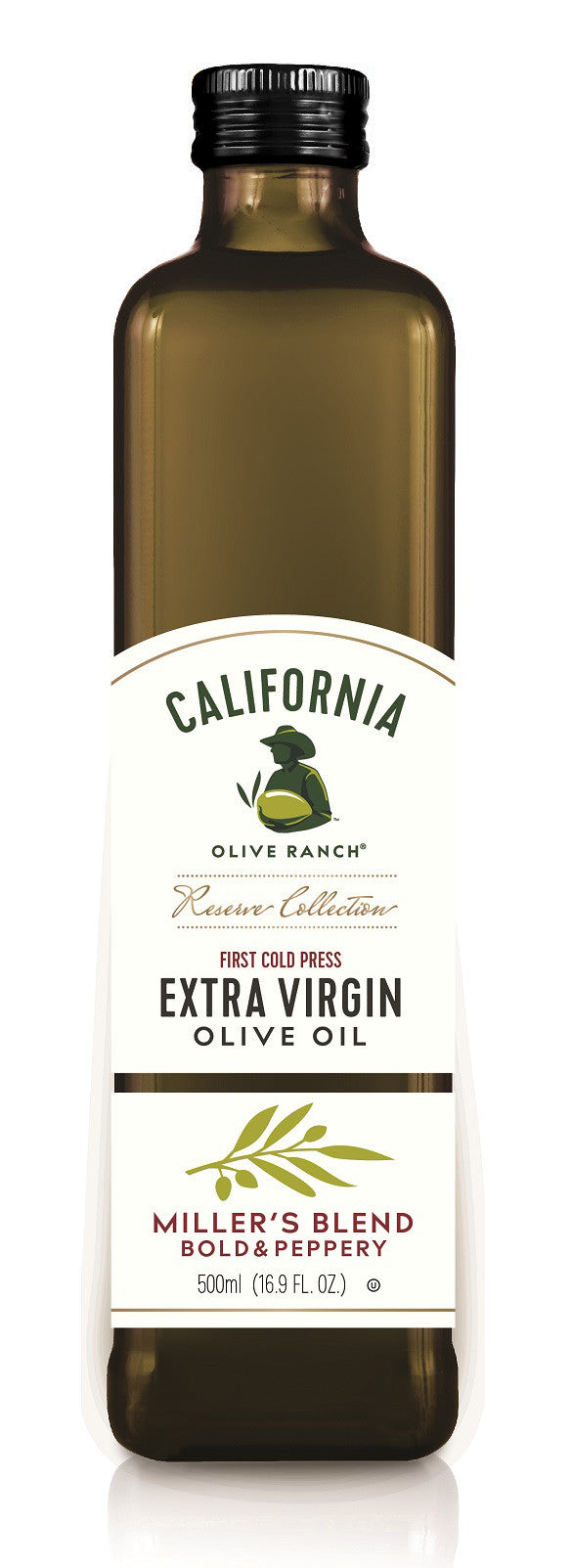 California Olive Ranch Reserve Collection Miller's Blend Extra Virgin Olive Oil, 16.9 FO (Pack of 6)