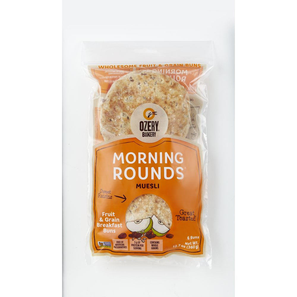 Ozery Bakery Morning Rounds Muesli Pita Bread, 12.7 Oz (Pack of 6)