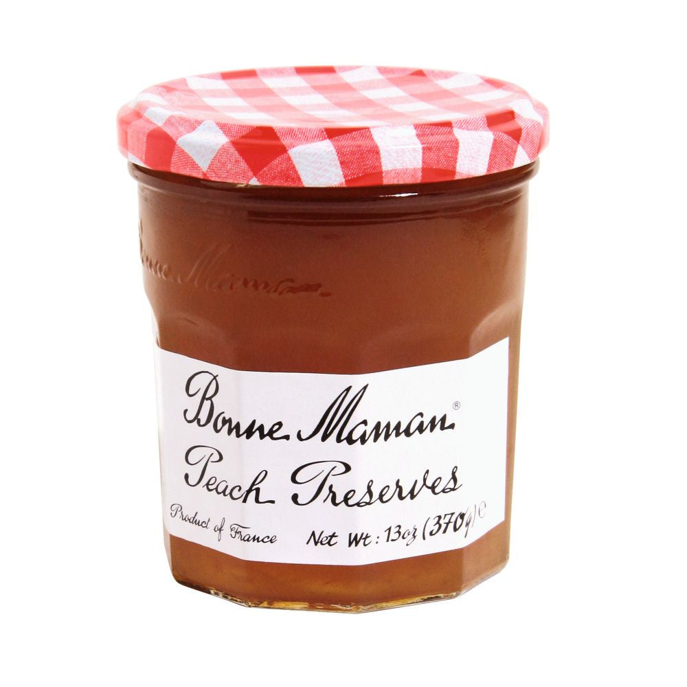 Bonne Maman Peach Preserves, 13 Oz (Pack of 6)